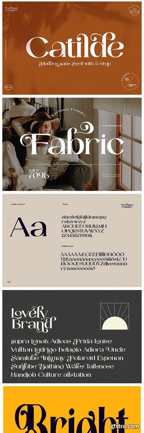 CM - Catilde Modern Sans Serif 5970743