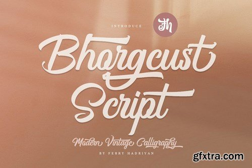 CM - Bhorgcust - Script Font 5990888