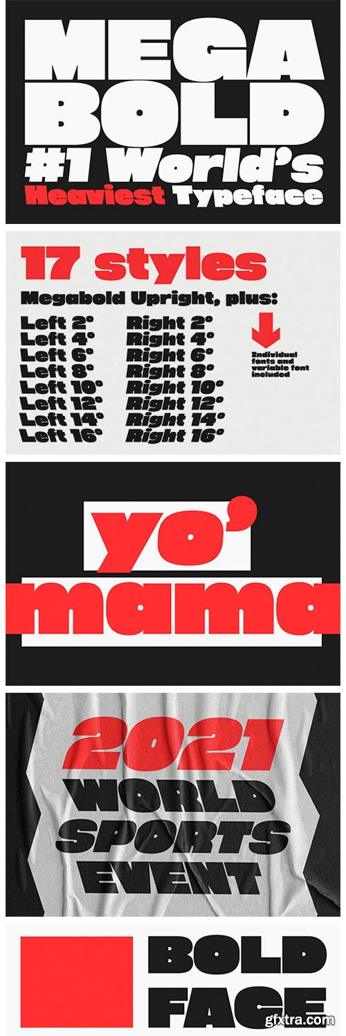 CM - Megabold: World's Heaviest Typeface 5874407