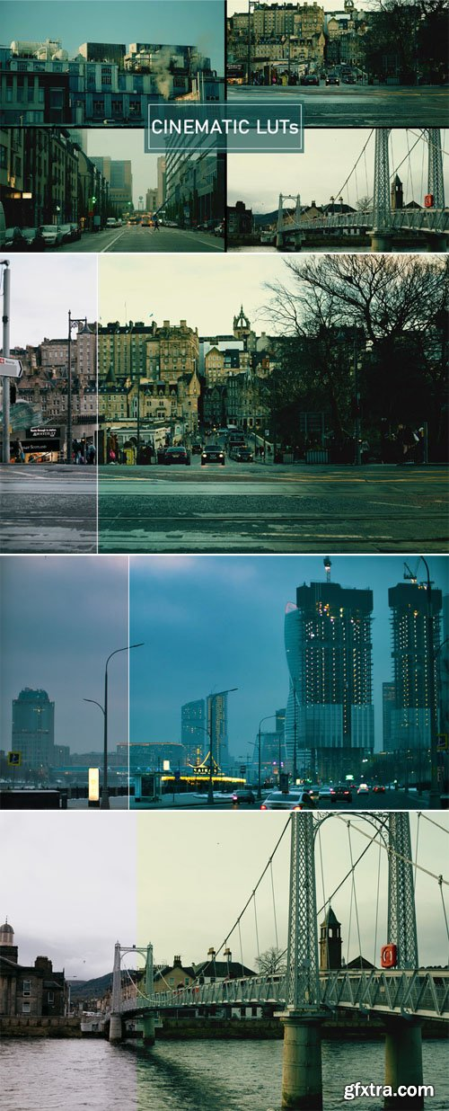 Cinematic Teal & Warm LUTs Effects For Photoshop