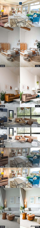 Interior Photoshop Actions