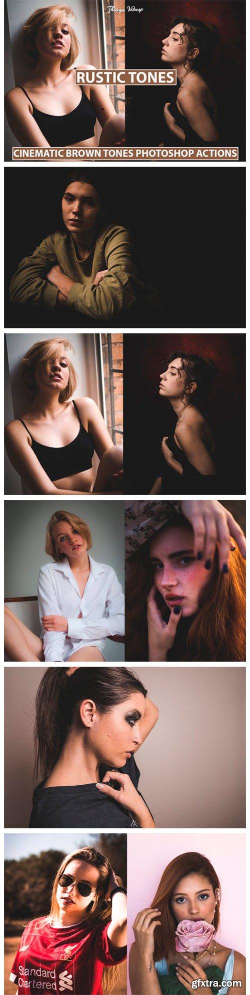 5 Photoshop Actions Rustic Tones 8566327