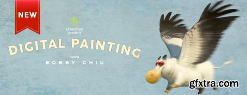 Schoolism – Digital Painting with Bobby Chiu 2020