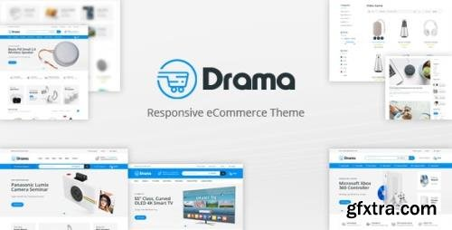 ThemeForest - Drama v1.0 - Responsive OpenCart Theme (Included Color Swatches) - 31300420