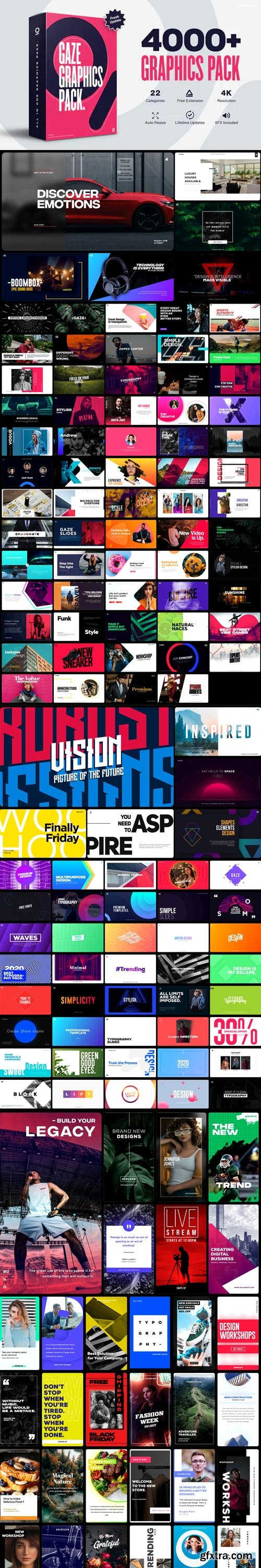 Videohive - Graphics Pack // 4000+ Animation Pack V4.5 - 25010010