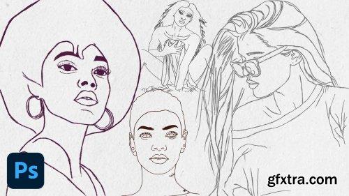 Digital Art - Sketching In Photoshop For Beginners