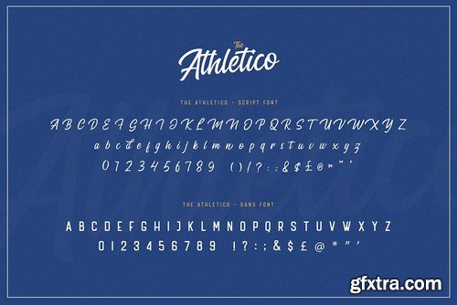 The Athletico Font Duo