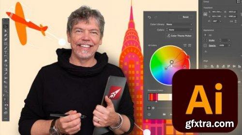 Adobe Illustrator - Beginner to Guru - 2021