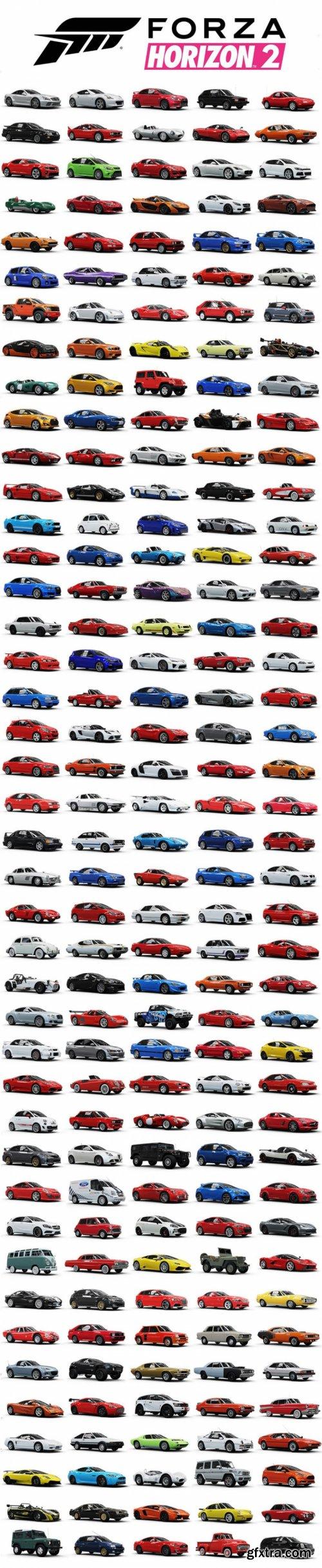 Forza Motorsport 3 4 Horizon 1 2 Car 3d models