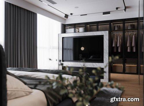 Modern Style Bedroom 627
