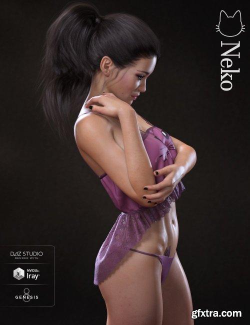 Neko HD for Genesis 8 Female