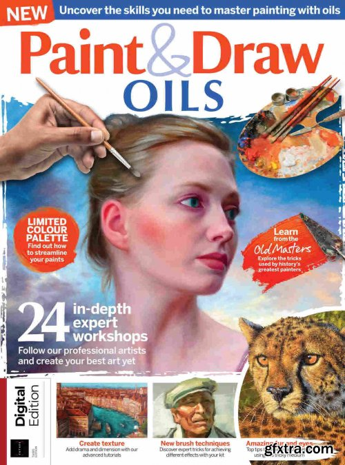 Paint & Draw: Oils - 3rd Edition, 2021
