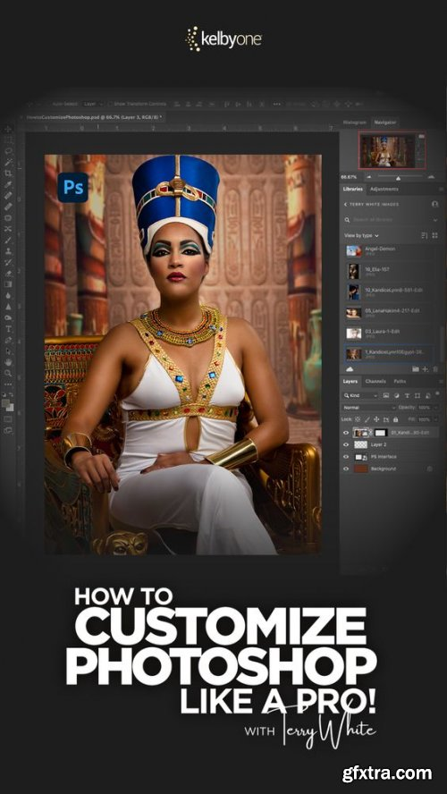 KelbyOne - How to Customize Photoshop Like a Pro!
