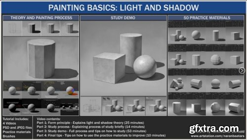 Artstion - PAINTING BASICS: LIGHT AND SHADOW