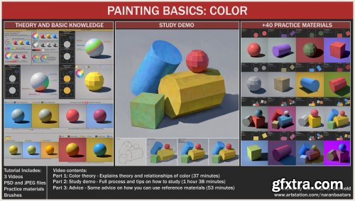 ArtStation - PAINTING BASICS: COLOR