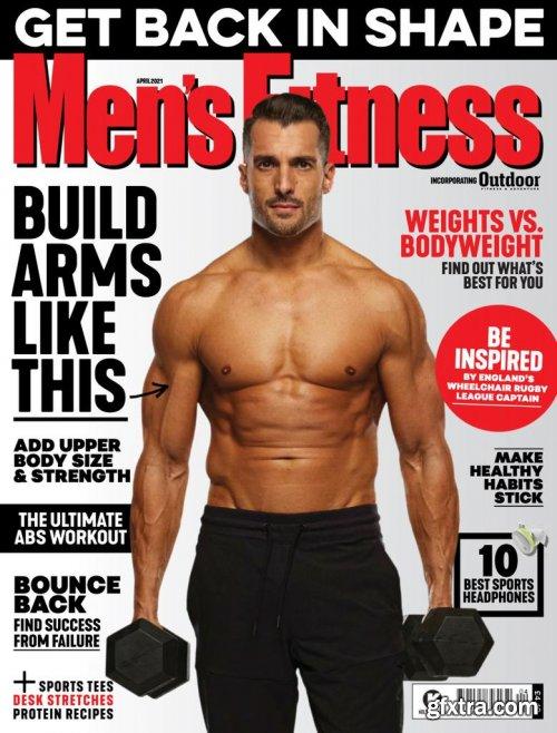 Men's Fitness UK - April 2021 (True PDF)