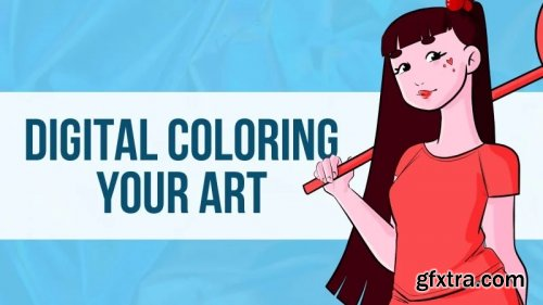 Digital Coloring Your Art - With Any Software!
