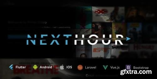 CodeCanyon - Next Hour v3.2 - Movie Tv Show & Video Subscription Portal Cms Web and Mobile App - 24626244 - NULLED