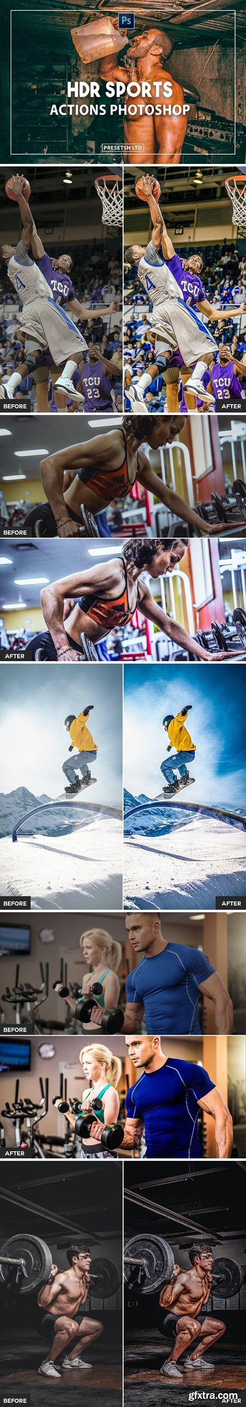 Sports Photoshop Actions