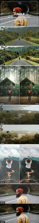 Jungle Photoshop Actions