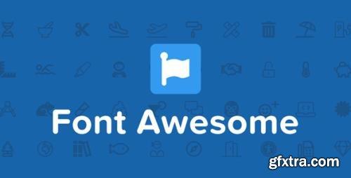 Font Awesome Pro v5.15.3 / v6.0.0 alpha3