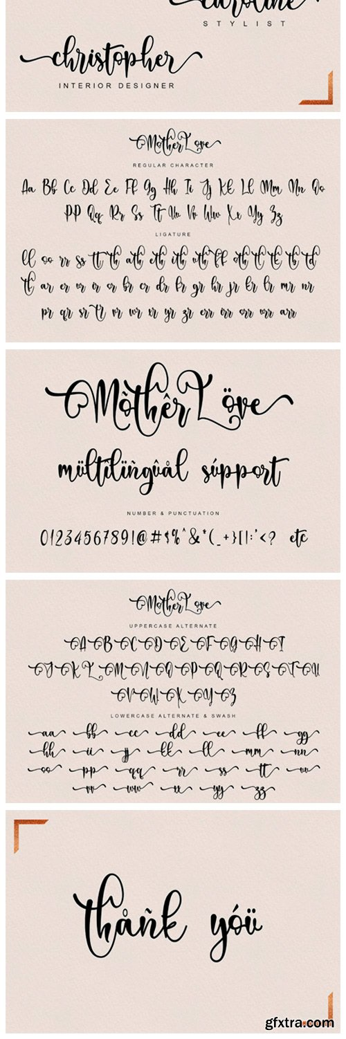 Mother Love Font