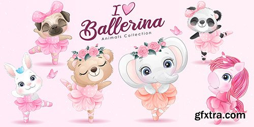 Ballerina animals Collection