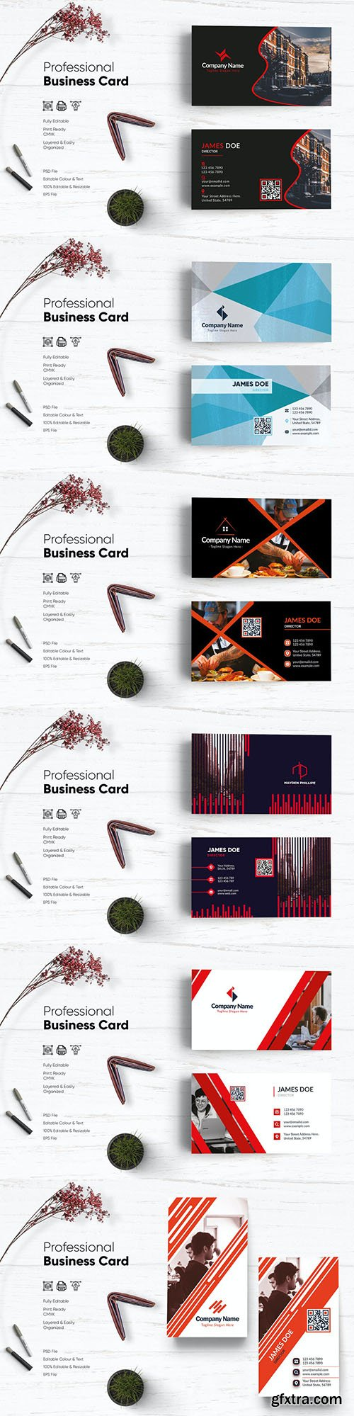 Creative Business Card Templates Pack