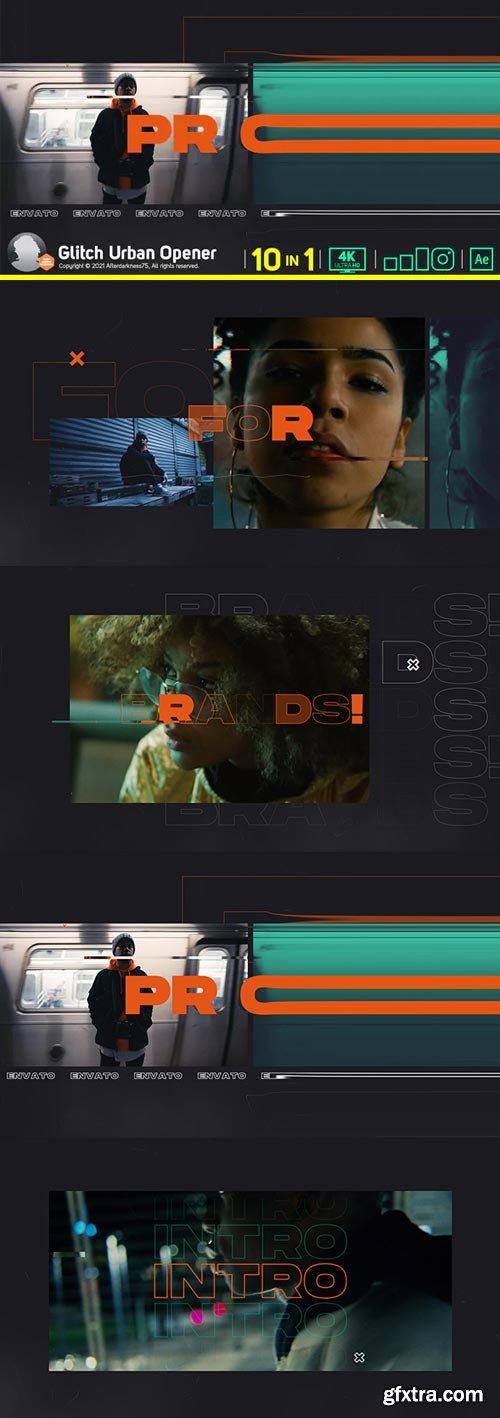 Videohive - Glitch Urban Opener V2 - 30126846