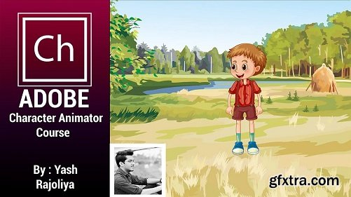Animation in adobe character animator CC complete motion capture animation follow along course