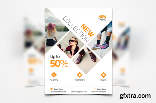 011 - Fashion Flyer Template