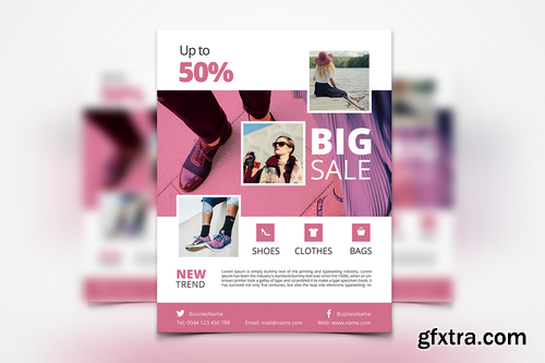 012 - Fashion Flyer Template