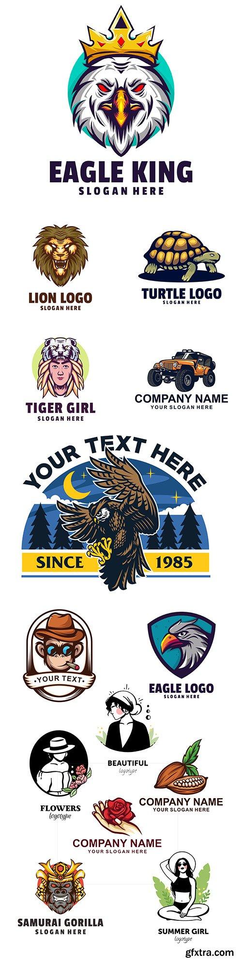 Brand name company business corporate logos design 26
