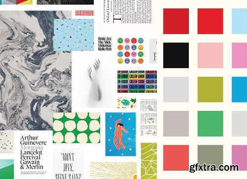 Design a Brand Identity: Create Unique Color Palettes using Mood Boards