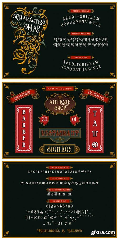 Arterium Font