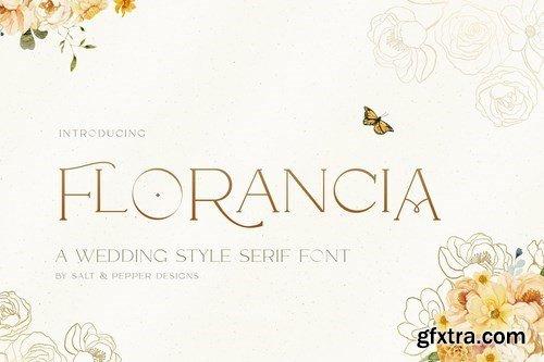 Florancia Serif Font
