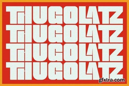 Thugolatz - Ligature Extended Sans