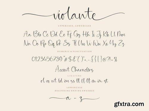 Violante Script Font