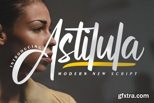 Astilula Modern New Script Font
