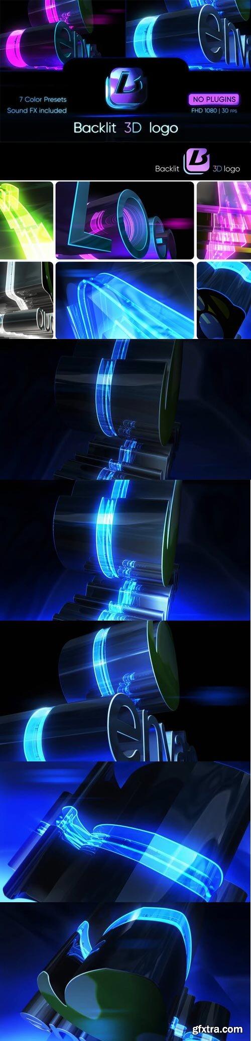 Videohive - Backlit 3D Logo - 30902997