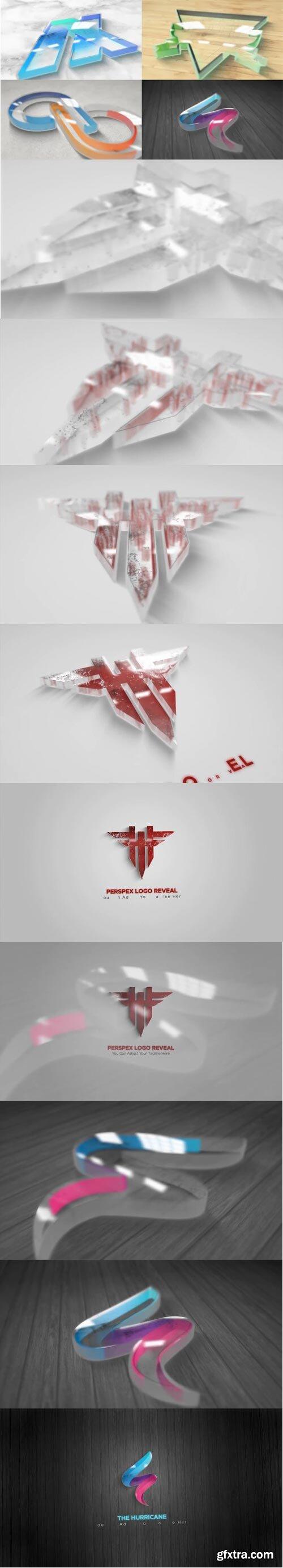 Videohive - Perspex Plastic Logo Reveal - 30757500