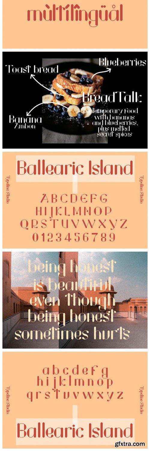 Ballearic Island Font