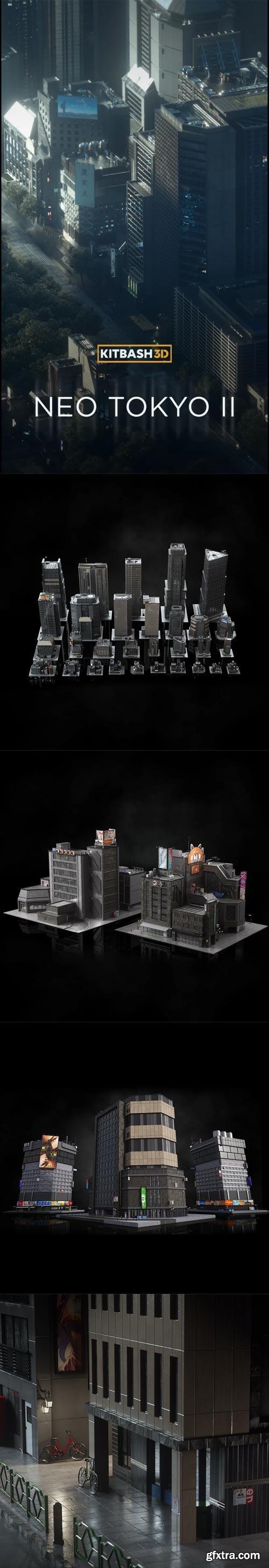 Kitbash3D - Neo Tokyo 2