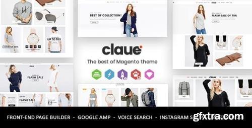 ThemeForest - Claue v1.9.9 - Clean, Minimal Magento 2 and 1 Theme - 20155150