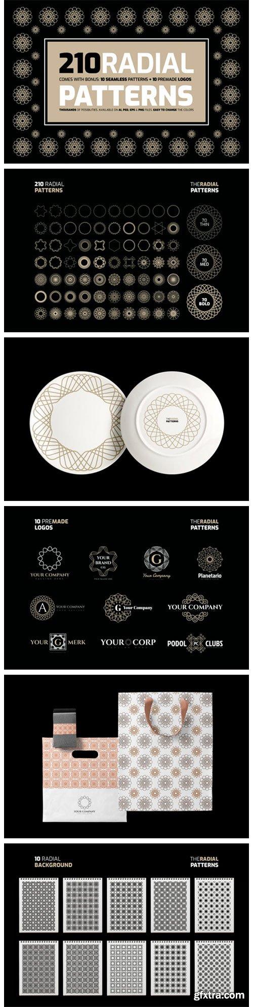 Radial Patterns Kit 5990894