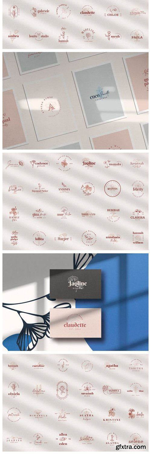 100 Logo Templates