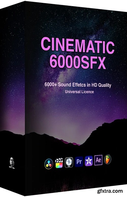 ProfessionalSongs 6000+ Cinematic SFX Ultimate Bundle Pack WAV
