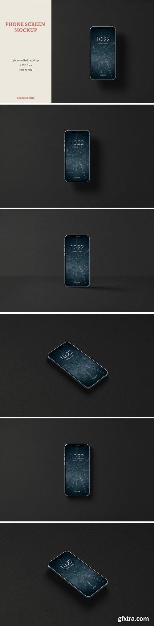 iPhone Screen Mockup