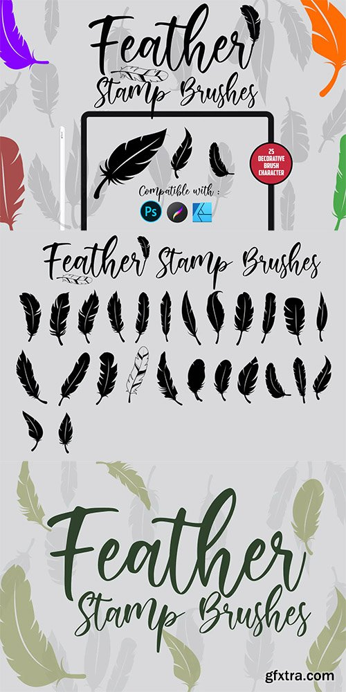 Feather | Stamp Brush