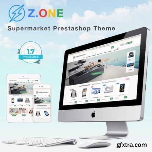 ZOne v2.5.7 - Supermarket Online Shop PrestaShop Template